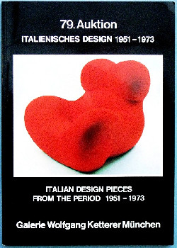 79 auktion - italian design pieces from period 1951 - 1973